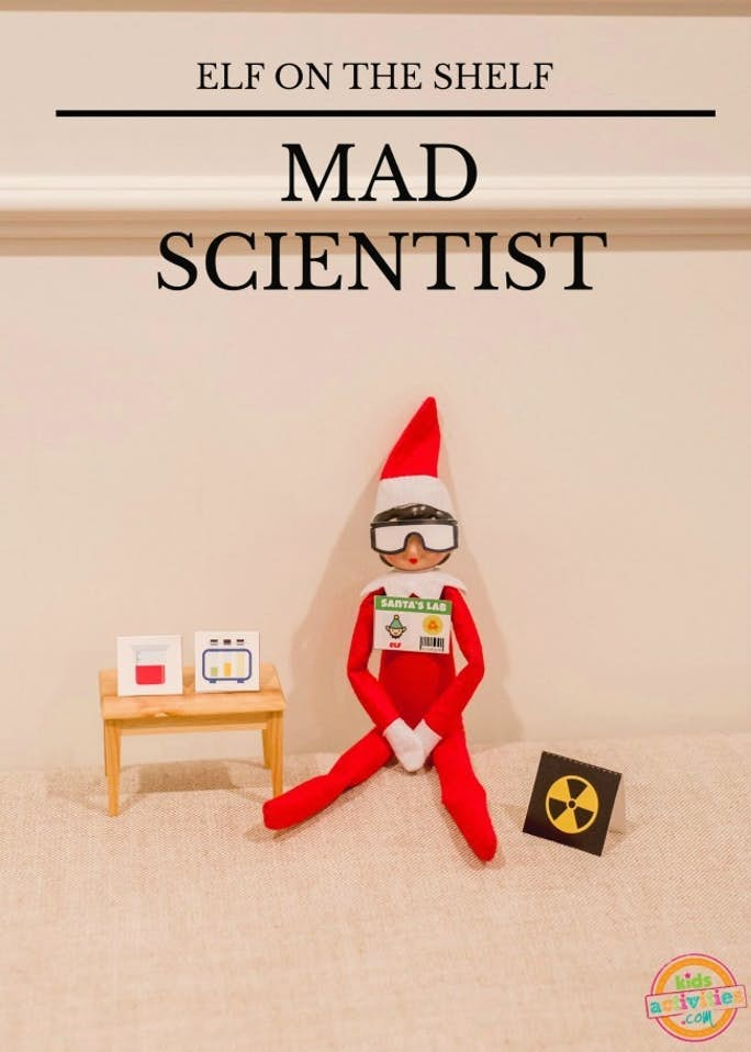 Elf on the Shelf Mad Scientist