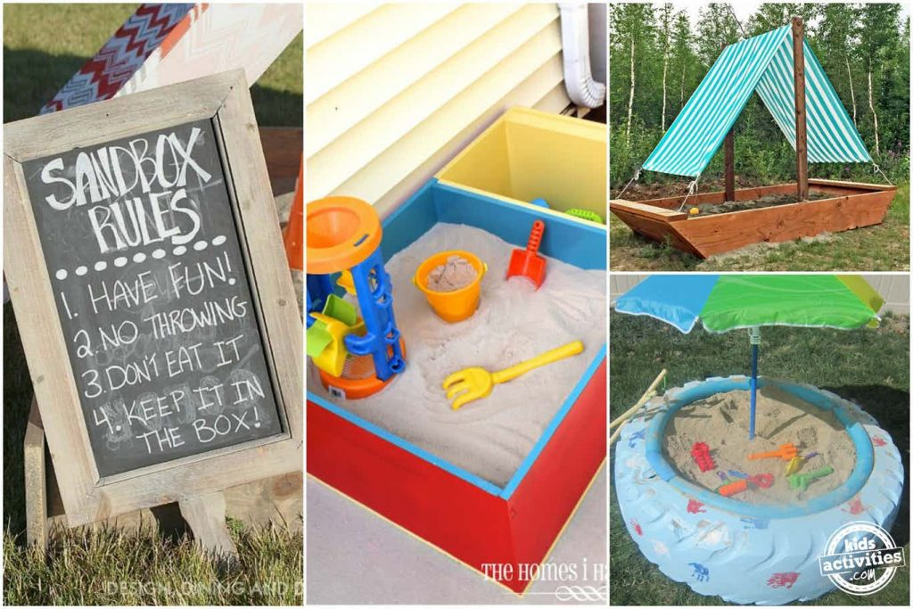 DIY Sandboxes Your Kids Will Love