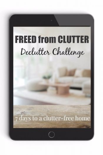 Declutter Guide Freed From Clutter Tablet