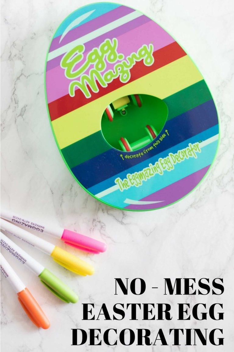 Eggmazing! No Mess Easter Egg Decorating…