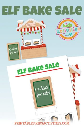 Elf Bake Sale