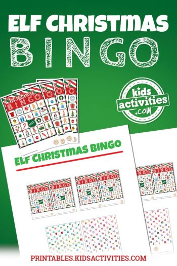 Elf Christmas Bingo
