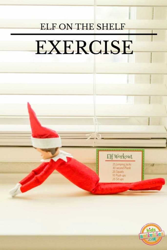 Elf on the Shelf Exercise