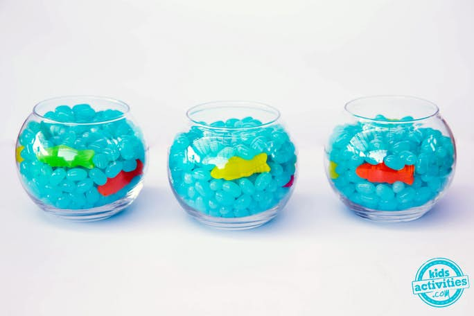 Fish Bowl Jelly bean snack