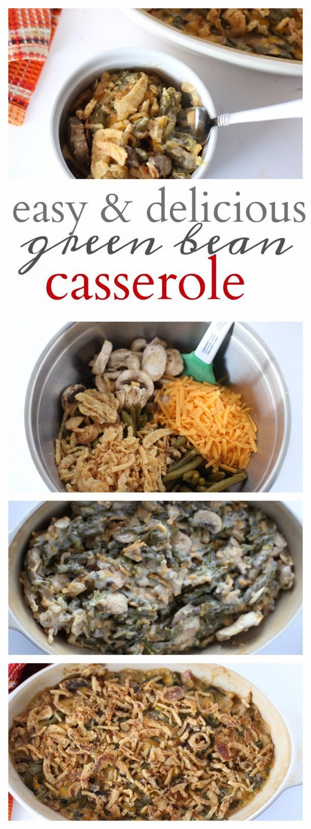 Green Bean Casserole Tall