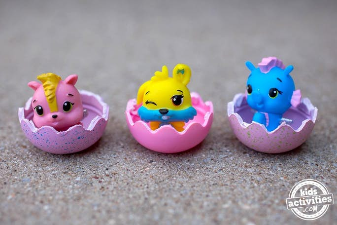 Hatchimals in Half Eggs - how cute are these newly hatched Hatchimals?
