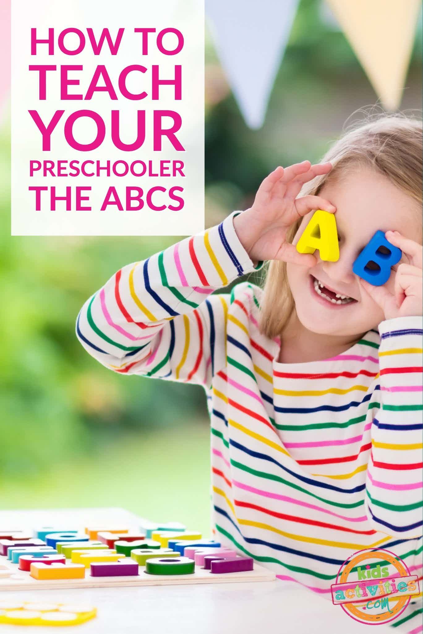 How to Teach Your Child the ABCs
