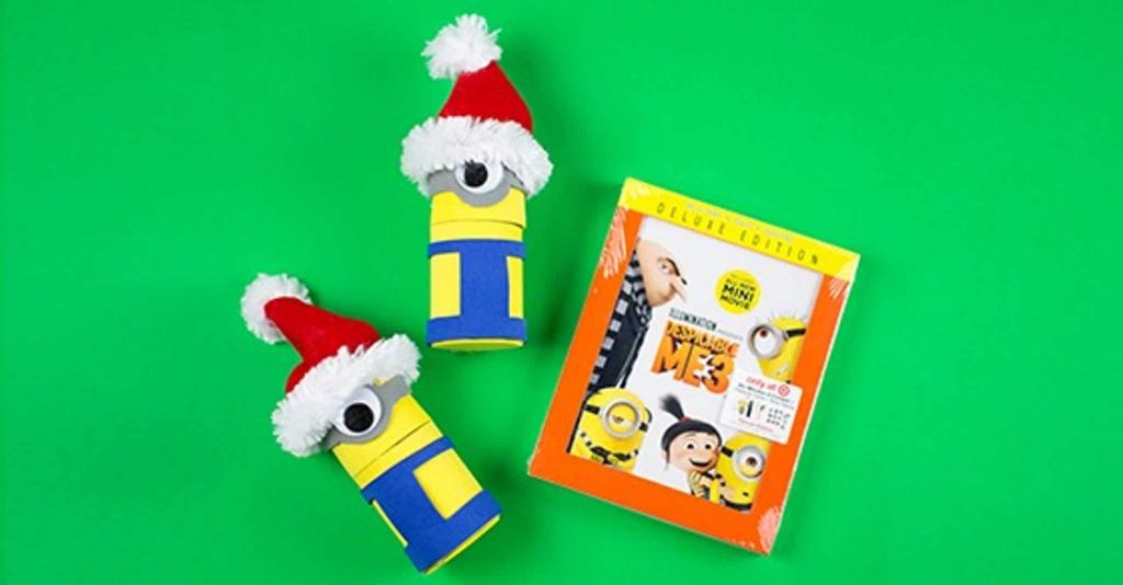 Minions Holiday Treat Boxes And Despicable Me 3 DVD