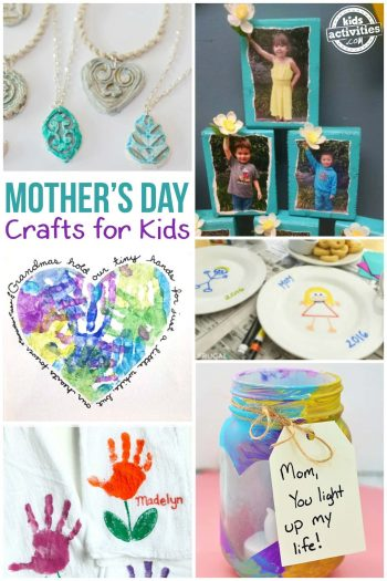 Mothers Day Crafts For Kids That They Can Actually Make