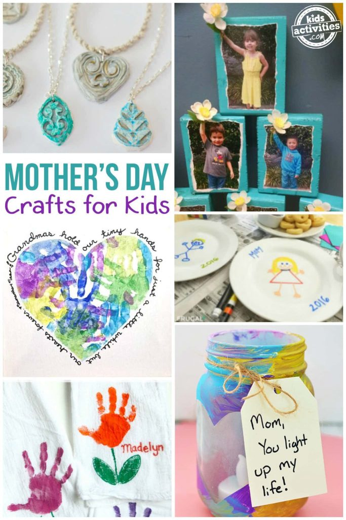 DIY Mother's Day Gifts for Kids to Make