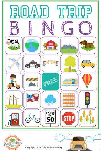 Road Trip Bingo - feature