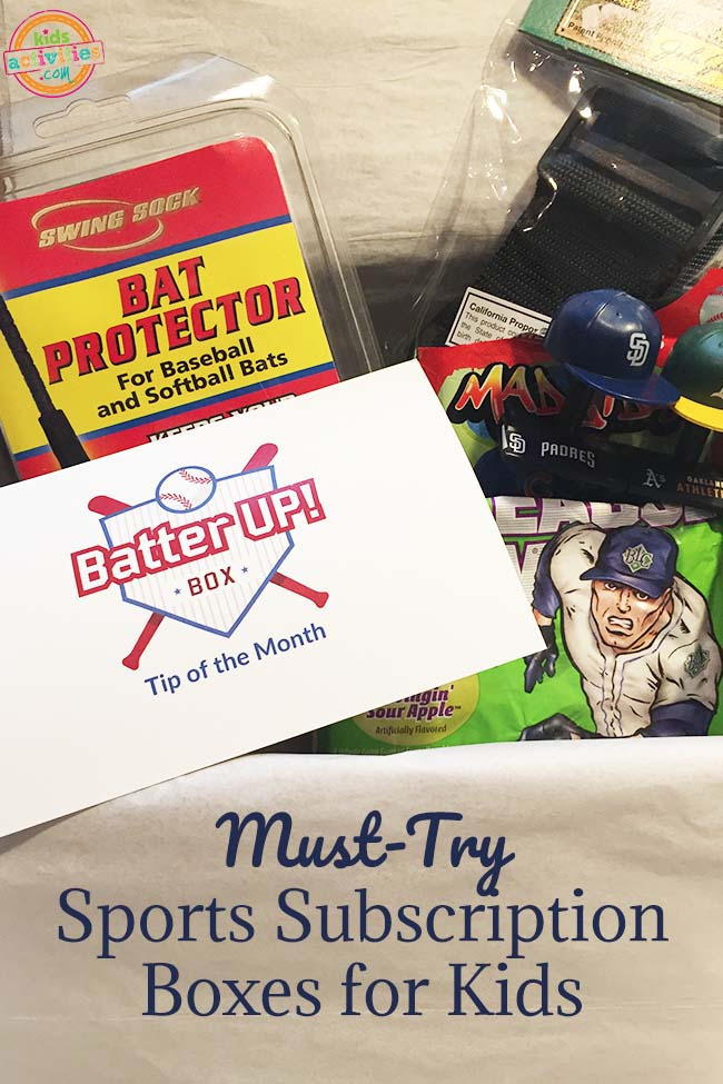 Embrace Kids Sports With the Sports Box Co. Subscription Box