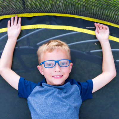 Spring Free Trampoline - Kids Activities Blog