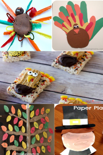 Thankgiving crafts and activities for toddlers
