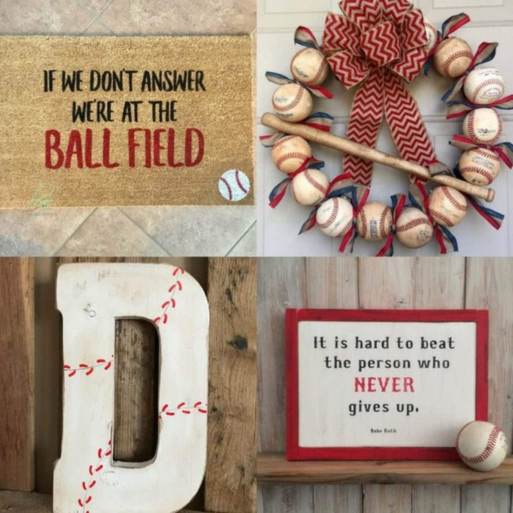 baseball mom needs - baseball door