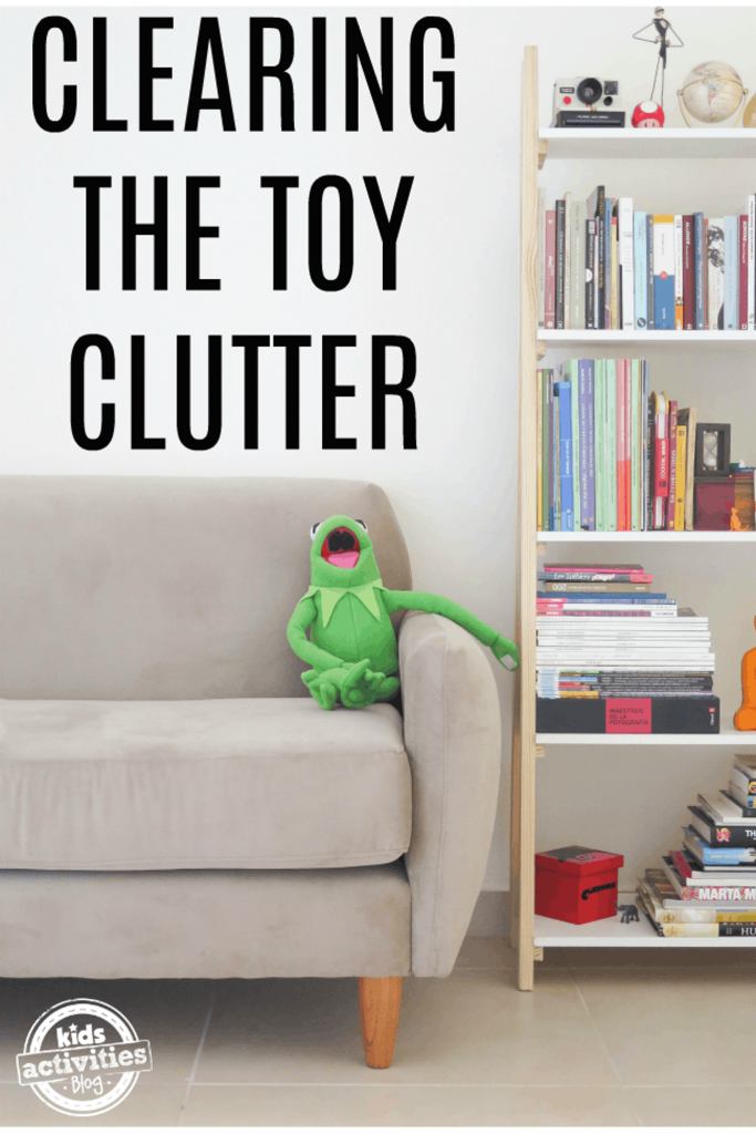 How to Clear Toy Clutter
