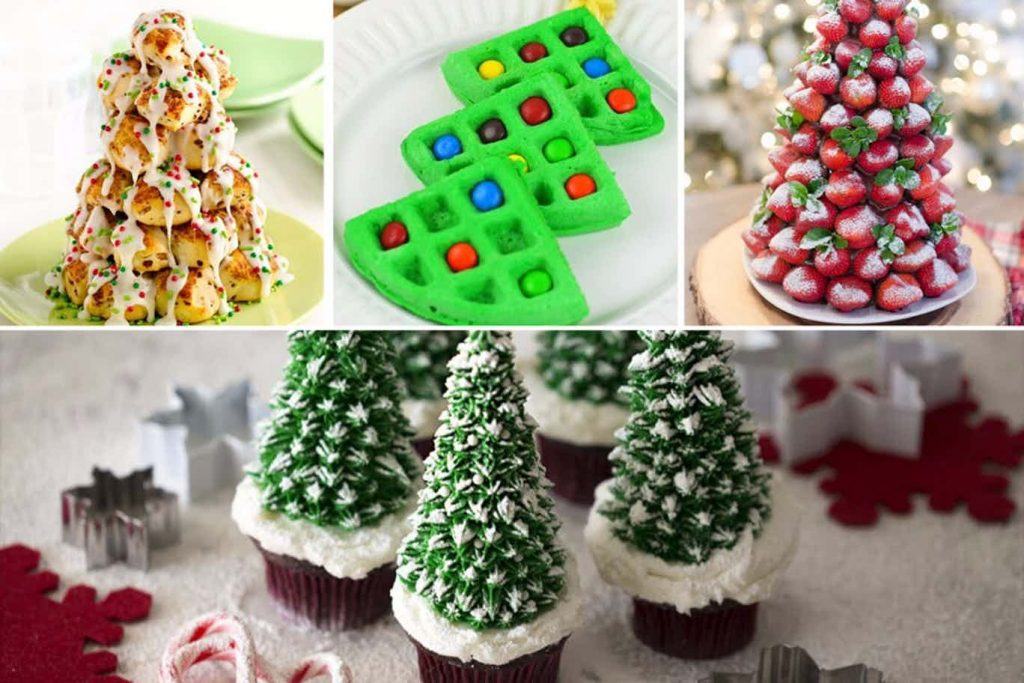edible christmas trees
