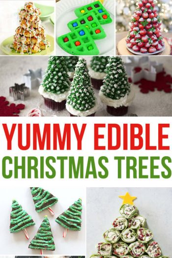 edible christmas trees - treats shaped like trees feature