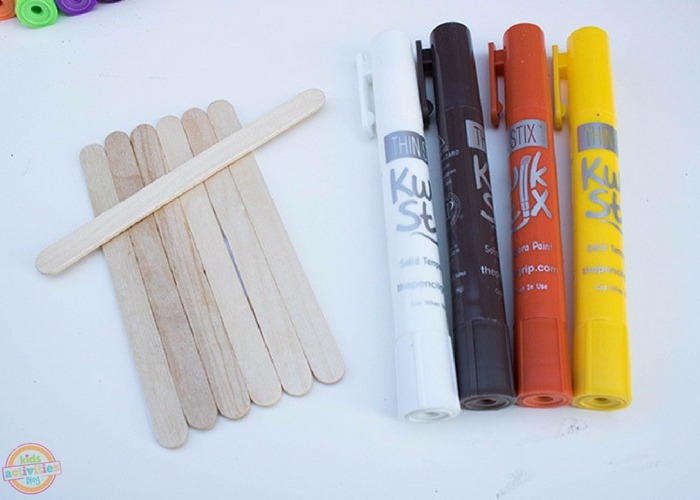 fall popsicle stick crafts supplies