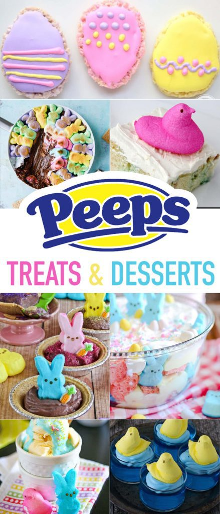 15 Fun and Yummy Peeps Recipes