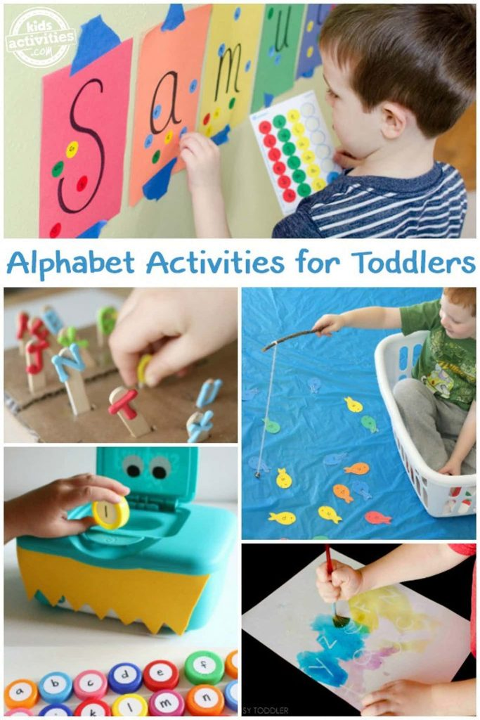 teach toddler the alphabet - alphabet activities for toddlers