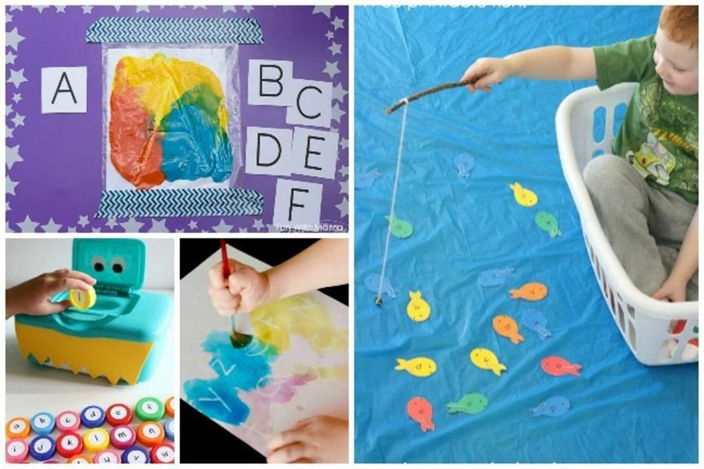 teach toddler the alphabet - collection of ideas