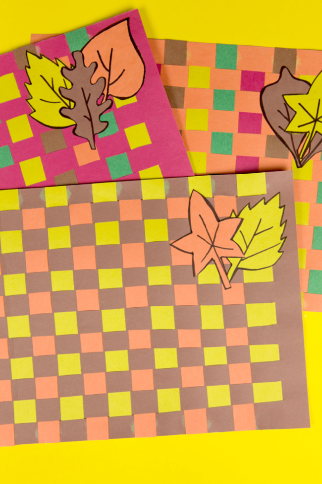 Woven Thanksgiving Placemats