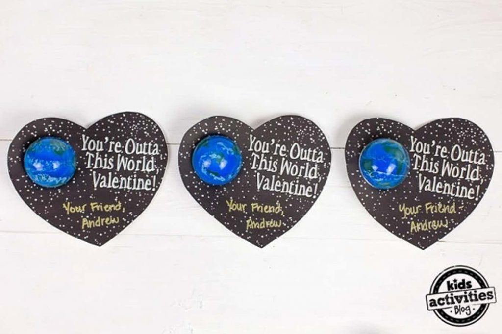 valentines for school to print - you are outta this world