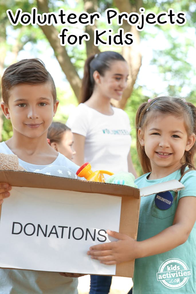 volunteer projects for kids