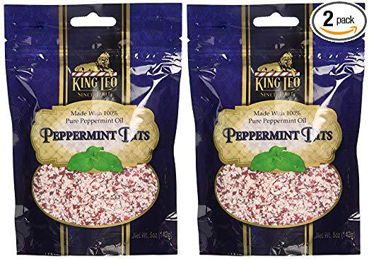 The perfect peppermint bits for baking.