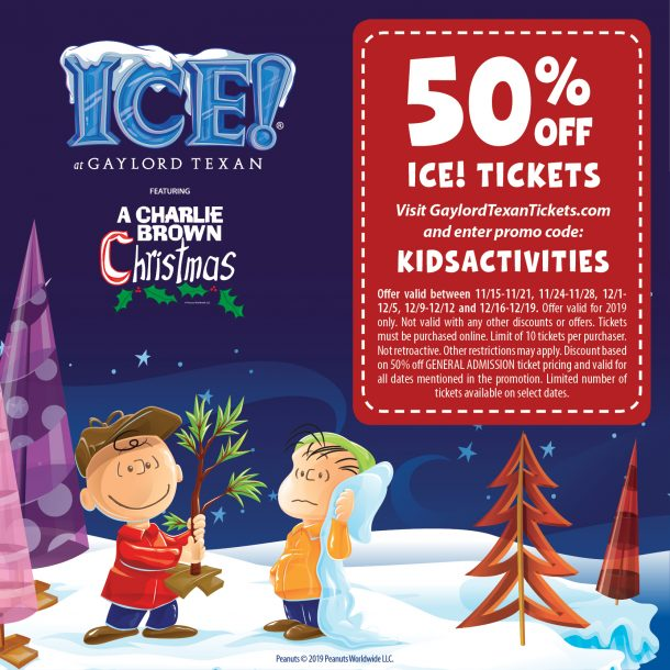 Gaylord ICE coupon code for 50% off