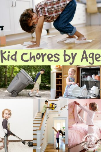 Best list of chores for kids by age - Kids activities Blog