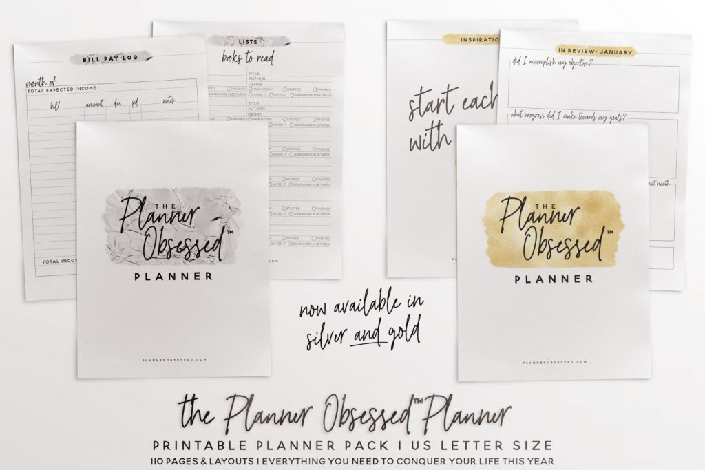 The Planner Obsessed Planner - One of the best planners for moms who are serious about getting organized! -Kids Activities Blog