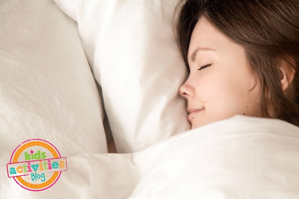 Top 5 New Year's Resolutions for Moms - #1 Prioritize Your Sleep - KidsActivitiesBlog.com