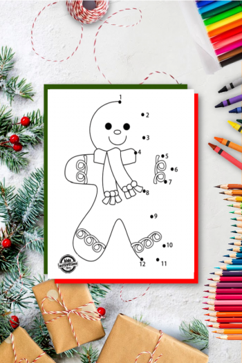 gingerbread man coloring sheets