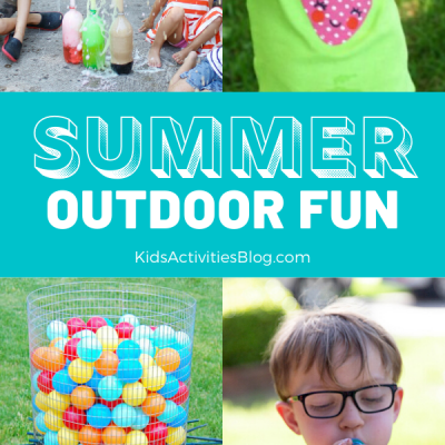 simple ways to have fun outside with kids this summer