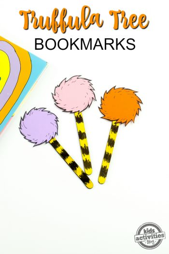 Truffula Tree Bookmarks