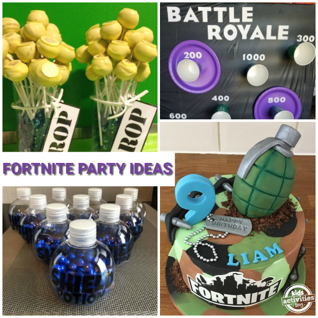 More Fortnite Party Ideas