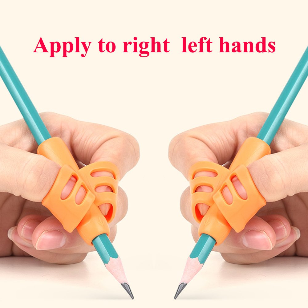 Pencil Grip for Left handed and right handed kids - works for both