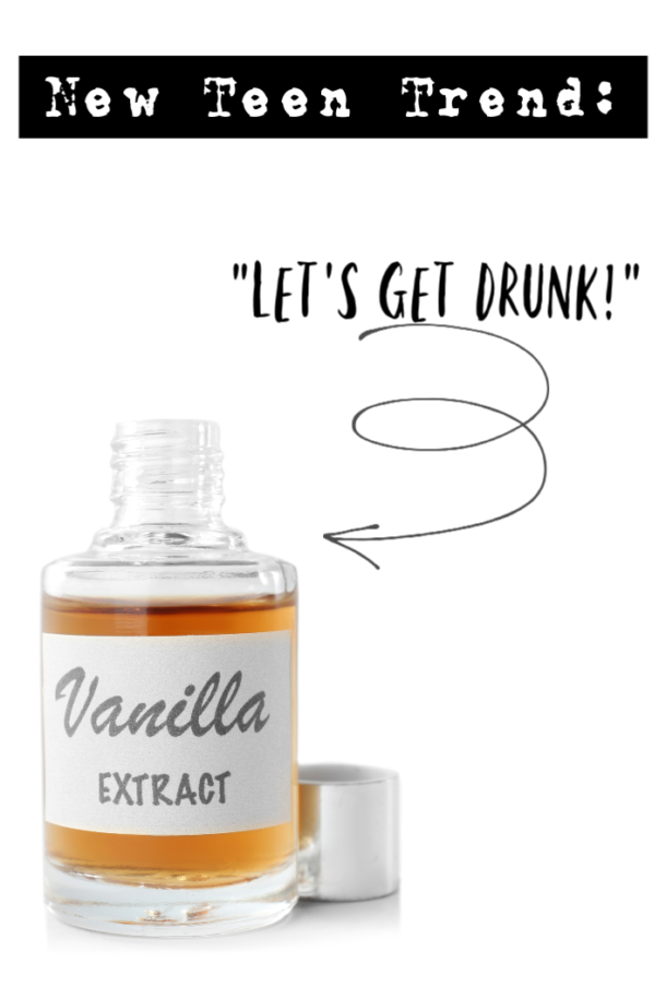 Drunk on vanilla extract - new teen trend facing parents