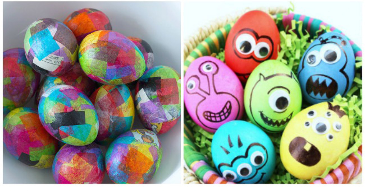 35 Ways To Decorate Easter Eggs That You Have To Try This Year