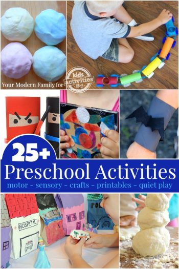 KAB Preschool Activities That Are Quick To Set Up