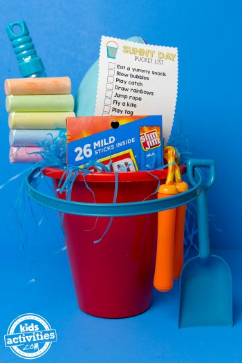 Sunny Day Activity Easter Basket Featured