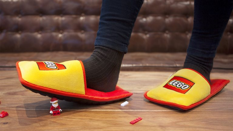 66 Years of Pain GONE Thanks to Anti-LEGO Slippers