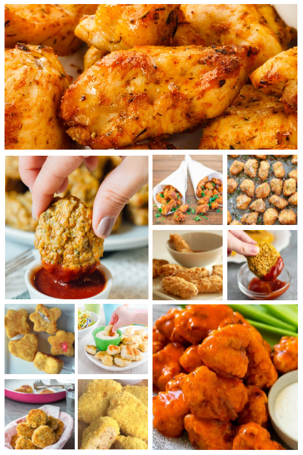 13 Kid Approved Chicken Nuggets Recipes