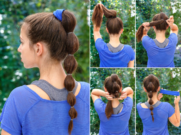 Mohawk Ponytail for girls