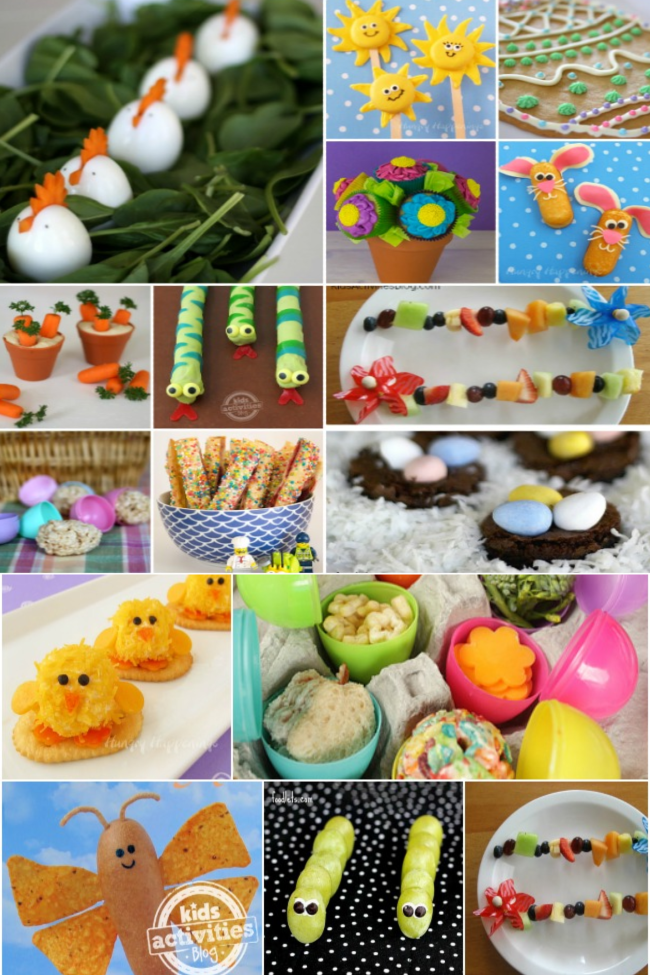 20 Adorable (and Doable) Spring Treats for Kids