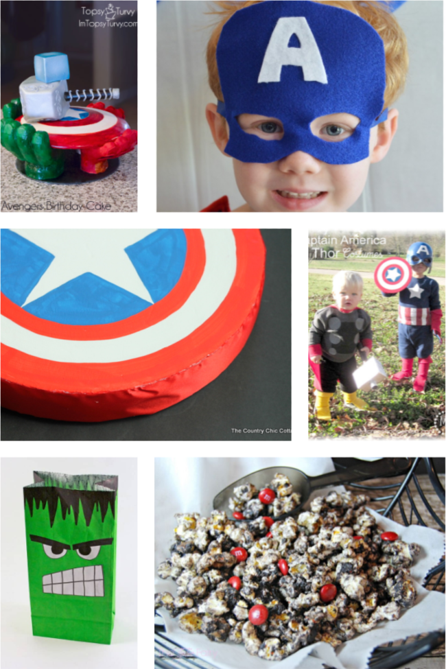 25 Awesome Avengers Party Ideas