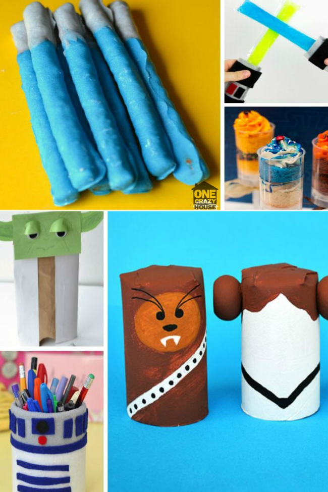 Bring out the Force – 30 Star Wars Crafts and Activities