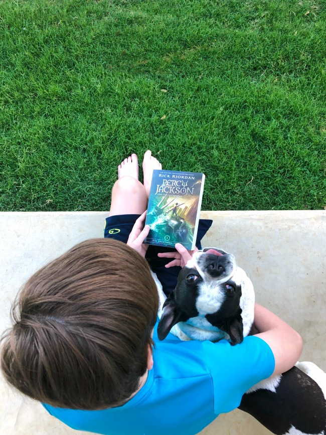 My Summer Plan to Entice My Son to Love Reading